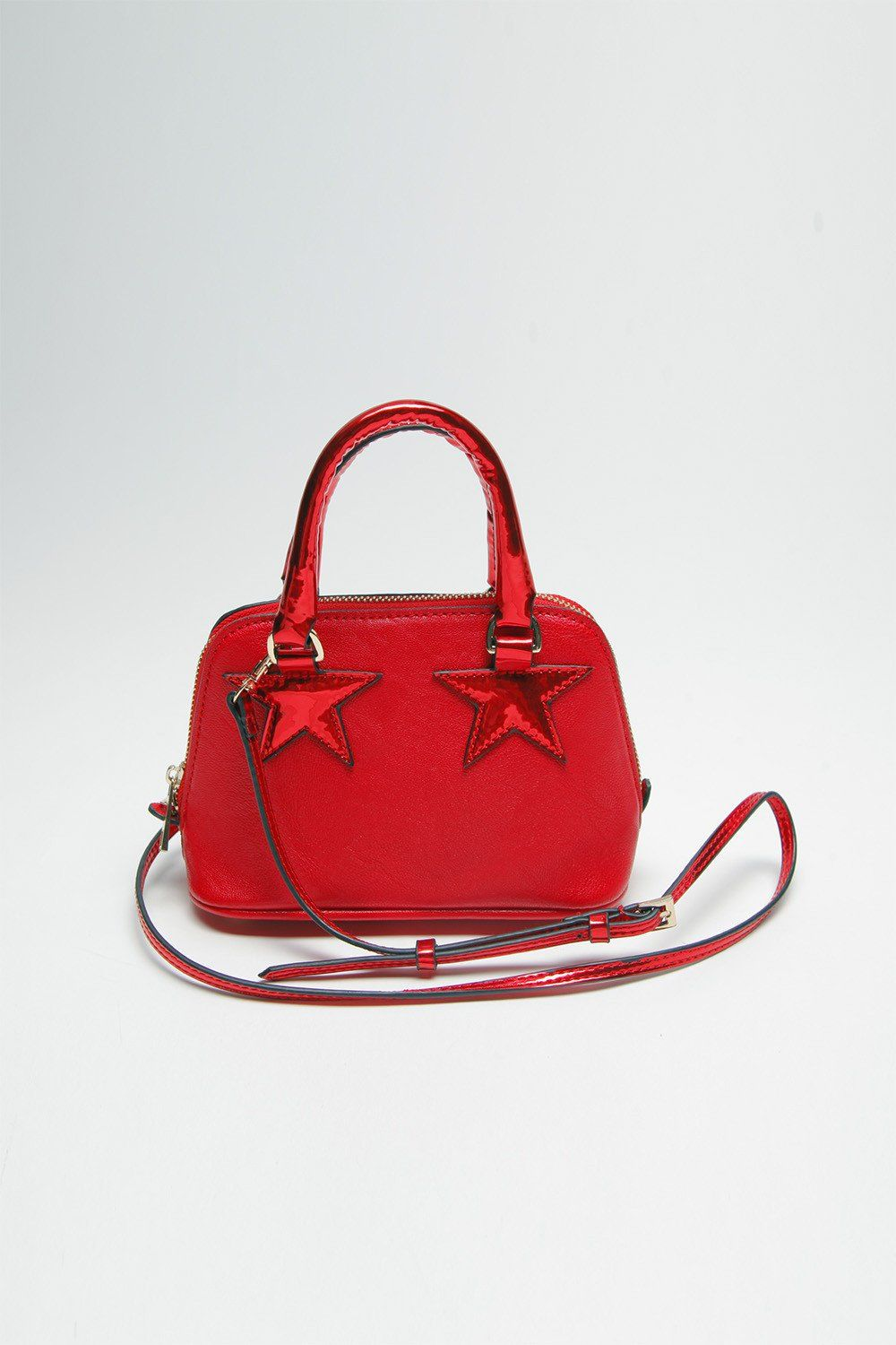 Shooting Star Minibag In Red
