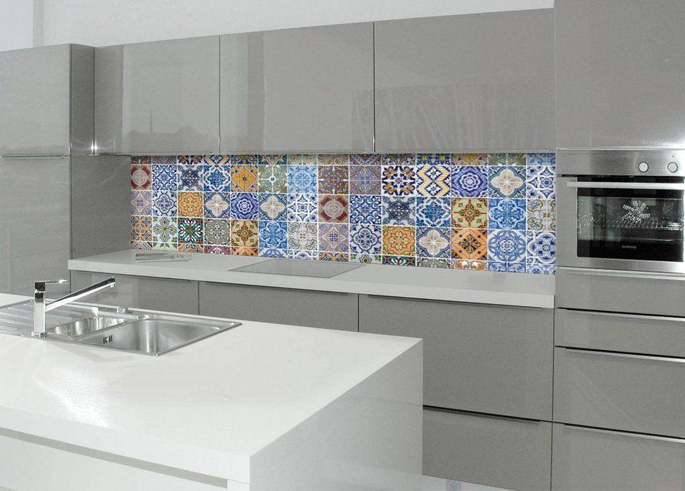 Küchenrückwand Mediterran ~ Küchenrückwand spritzschutz profix« pablo fliese cm
