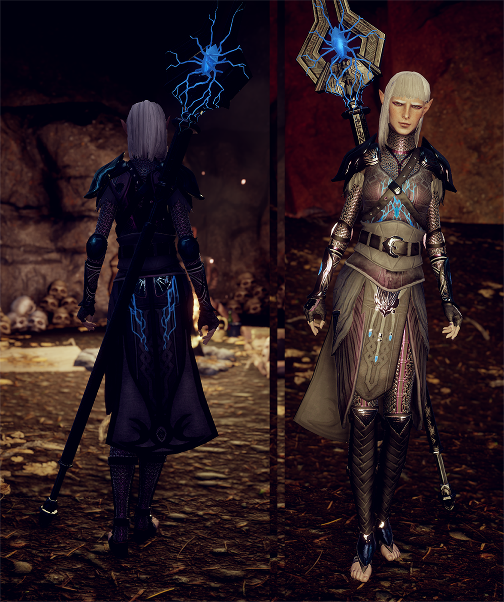 Lyrium Mage Armor At Dragon Age Inquisition Nexus Mods And Community Mage Armor Dragon Age Aesthetic Fantasy Character Design