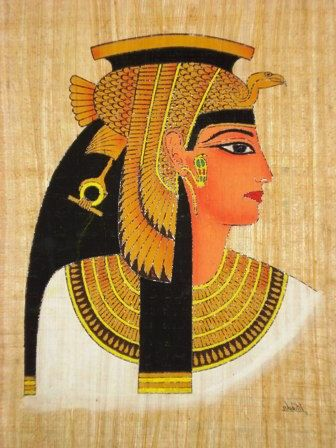 Cleopatra VII/Cleopatra - Queen of ancient Egypt, Last active pharaoh of the Ptolemaic Egypt, also known as… | Egyptian painting, Egyptian art, Ancient egyptian art