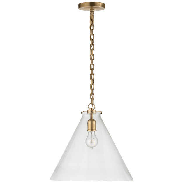 Katie Conical Pendant In 2020 Ceiling Pendant Lights Polished Nickel Pendant Pendant
