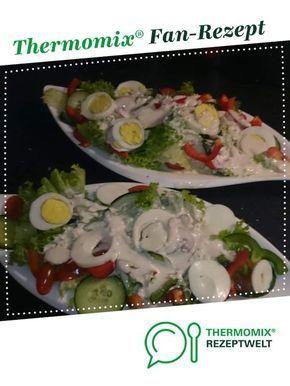 Weiße Salatsoße - Wie beim Italiener von Chrimibu. Ein Thermomix ® Rezept aus der Kategorie Saucen/Dips/Brotaufstriche auf www.rezeptwelt.de, der Thermomix ® Community.