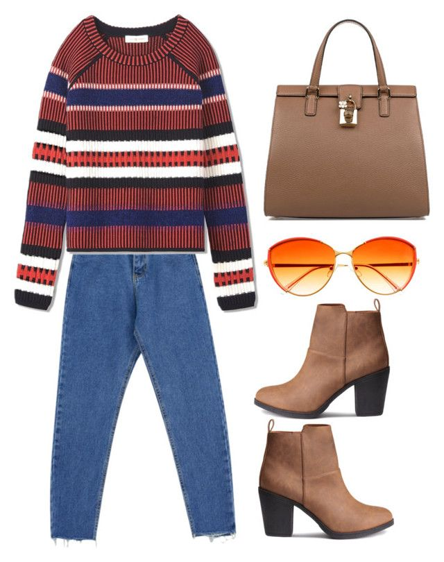 """""""Untitled #1566"""" by christawallace on Polyvore featuring Chicnova Fashion, Tory Burch and Dolce&Gabbana"""