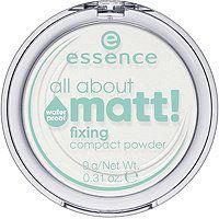 Essence All About Matt Fixing Compact Powder Waterproof Essence Haut Matt