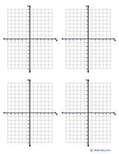 Already Numbered Graph Paper With 6 Graphs Per Page Google Search