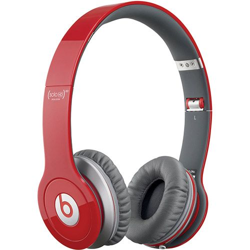 Fone de Ouvido Beats by Dr. Dre On Ear Red Edition Solo HD