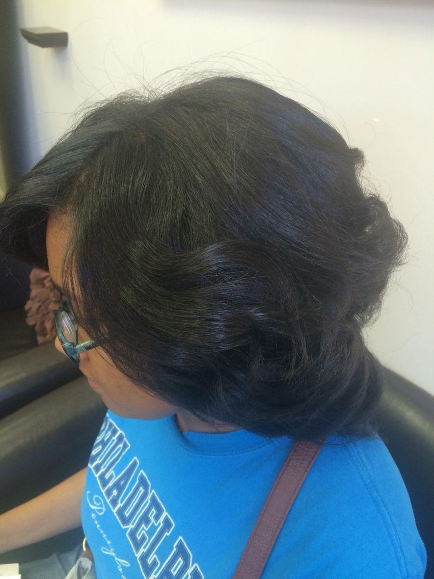 Pin by Natural Hair Rocks Salon on Silk Press Chemical