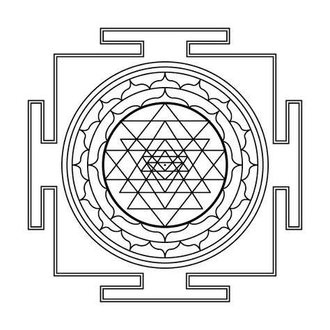 Rohit Arya Symbolism Of The Sri Yantra Shri Yantra Sri Yantra