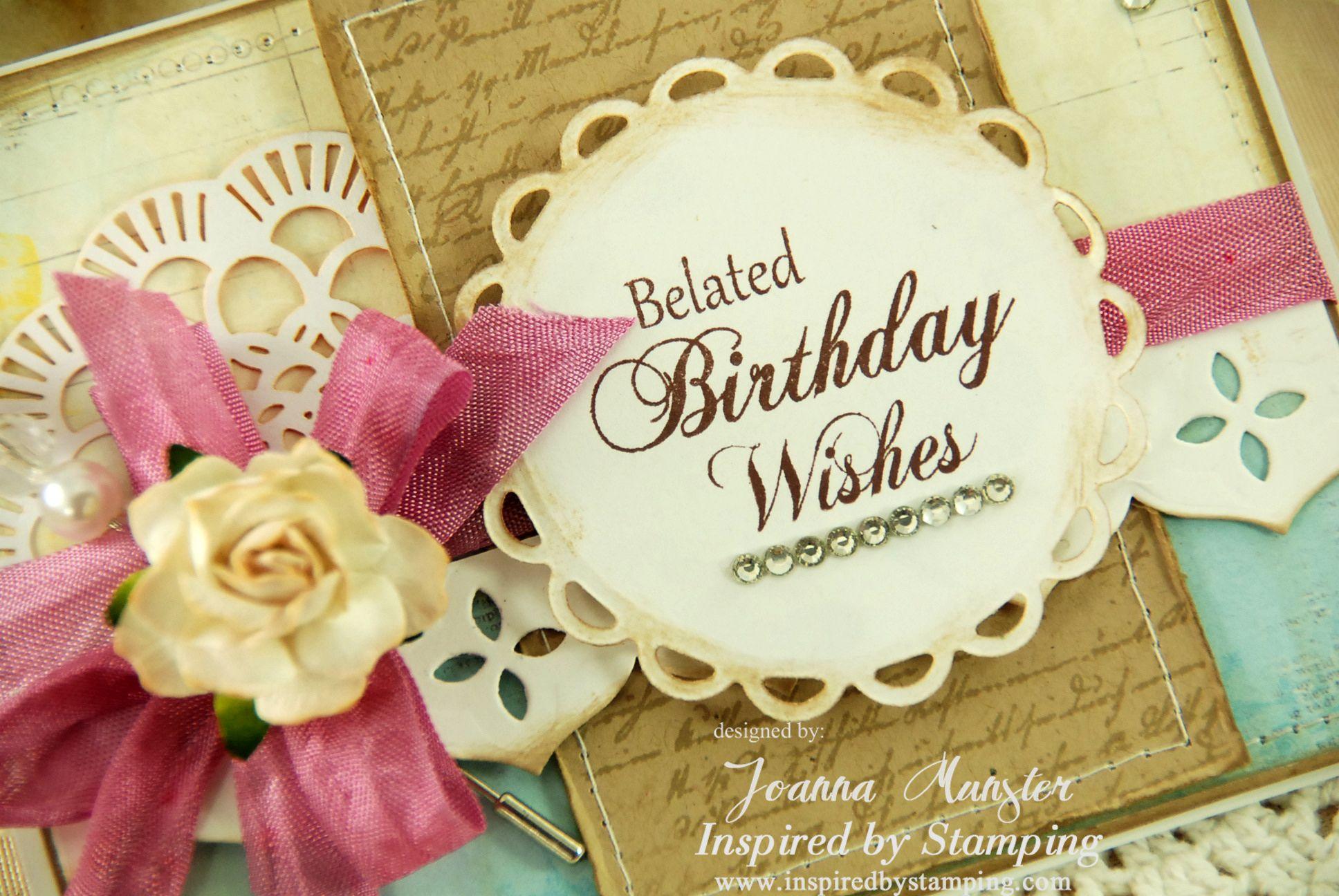 Belated birthday wishes ecard greetings u blessings pinterest