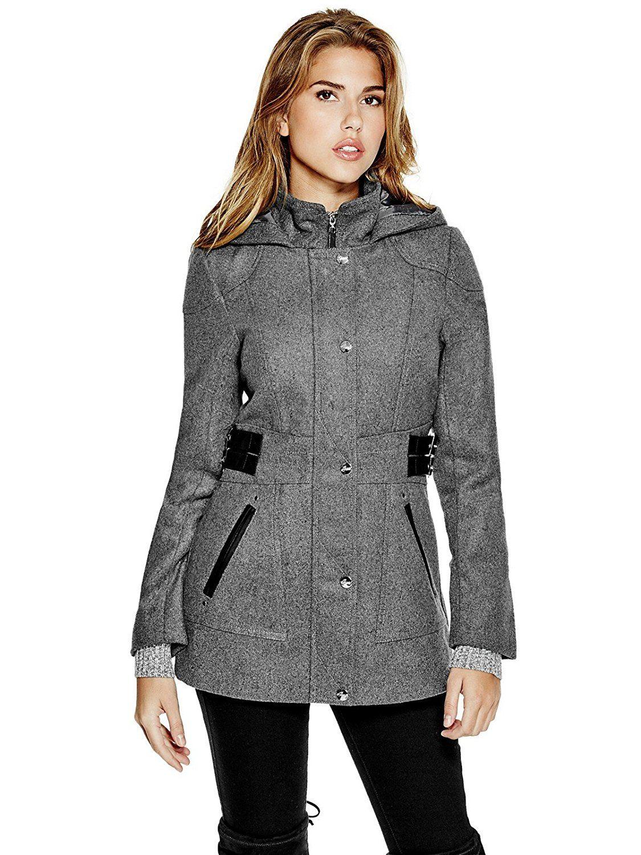 Guess Women S Jonina Wool Blend Coat Want Additional Info Click On The Image Outerwear Women Fashion Clothes Women Fashion [ 1500 x 1125 Pixel ]