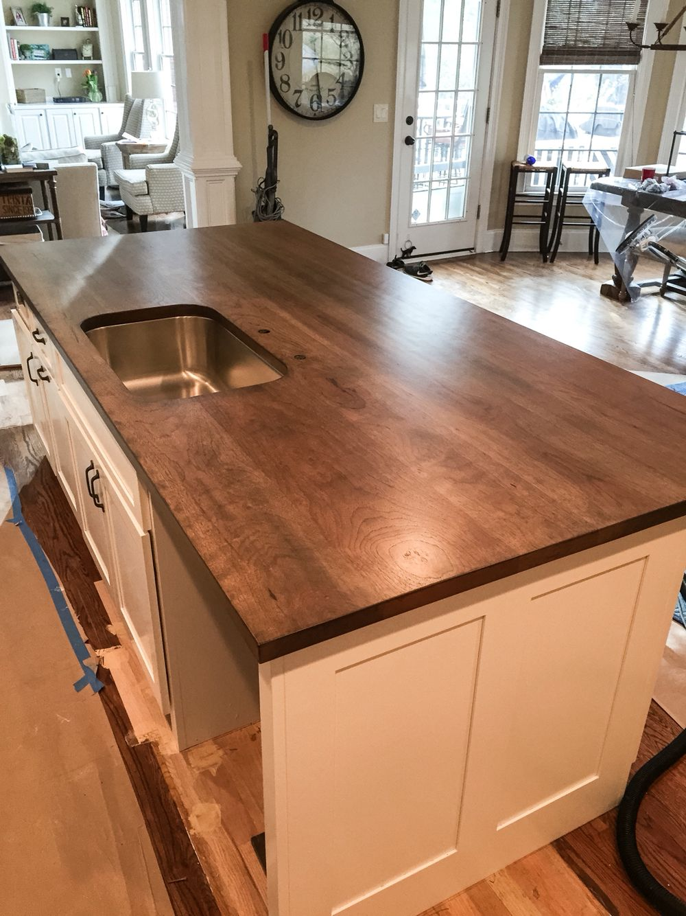 Pecan Island Counter Top Wood From Cag Lumber Built By Marty Weck