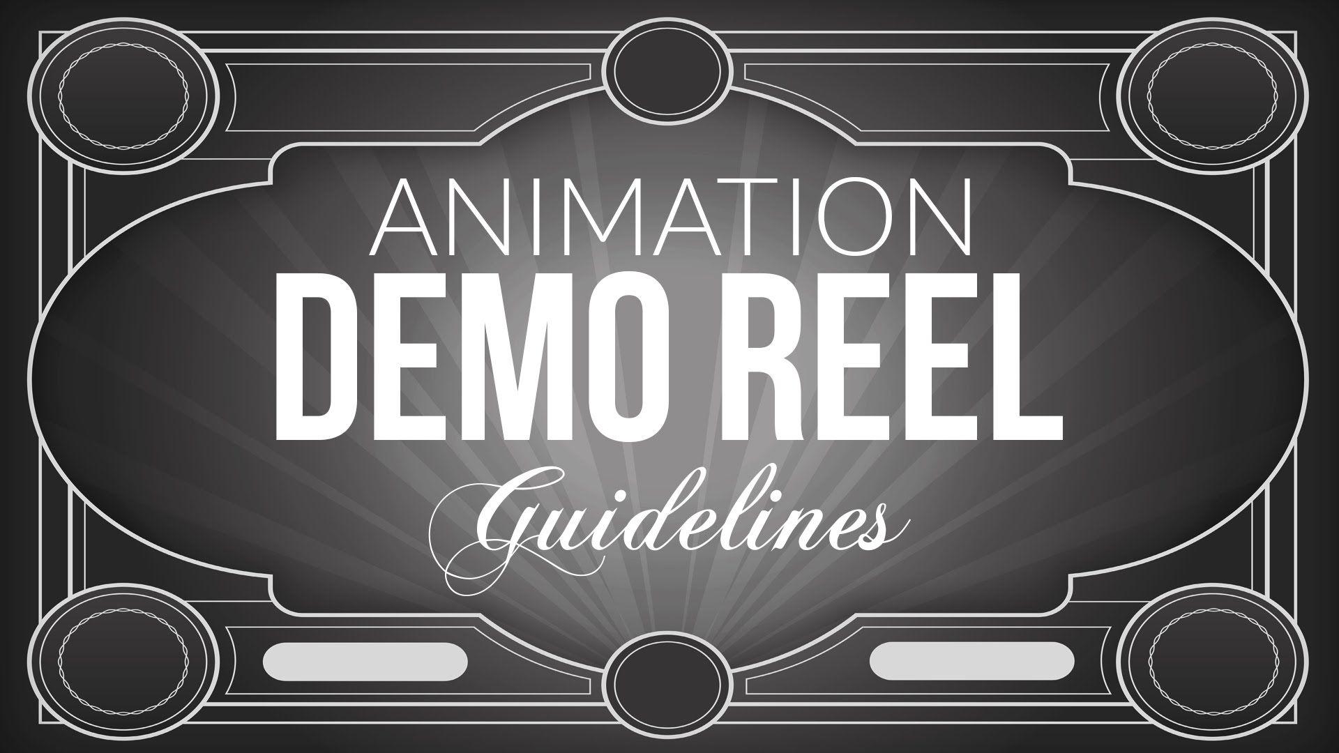 demo reel de animación