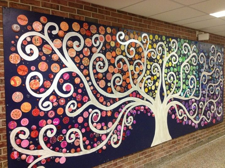 Image result for create a mural based on music instruments and notes 5th and 6th grade project 2013