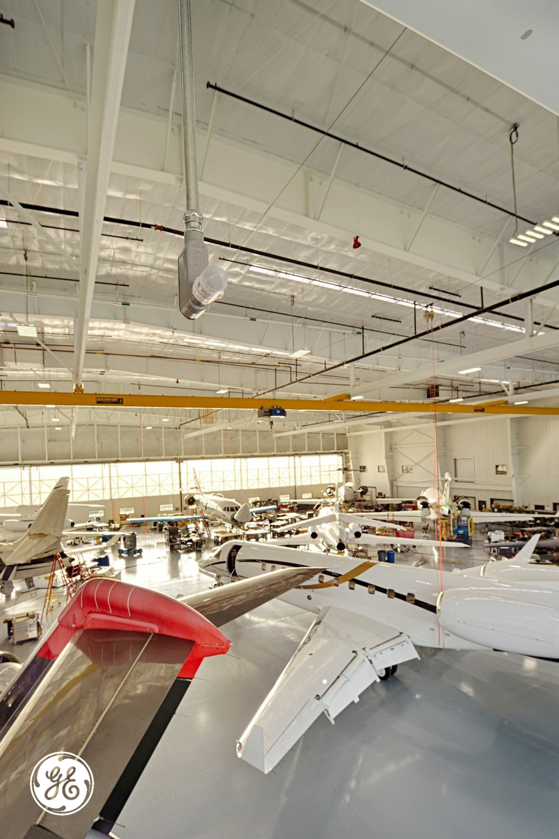 Officials With Duncan Aviation Understand Their Maintenance Workers Deserve The Best Lighting Possible To Help Them Do Their Jobs