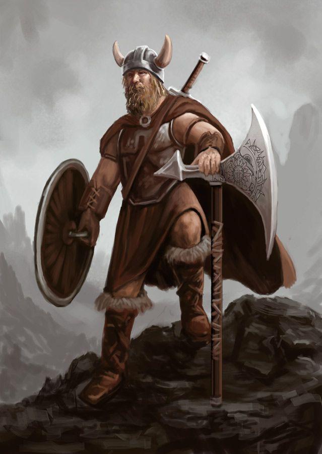 Viking | Viking warrior by ~peterhurman on deviantART | Stuff to ...