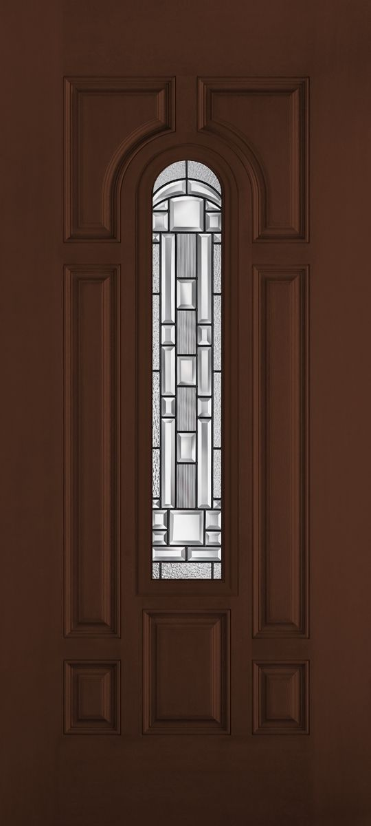 Fiberglass doors belleville mahogany textured masonite for Belleville fiberglass doors