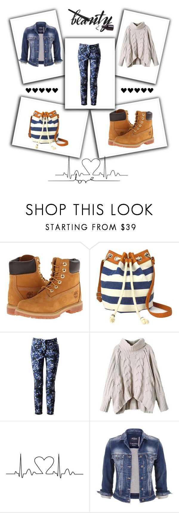 """""""Simple beauty"""" by nescio ❤ liked on Polyvore featuring Timberland, Arizona, Erdem, maurices, simplicity and nescio"""