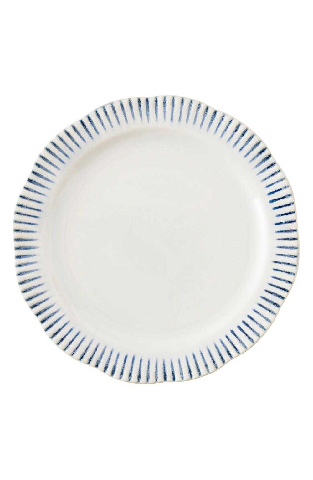Juliska Wanderlust Collection Sitio Stripe Stoneware Dinner Plate Nordstrom Plates Dinner Plates Gold Dinnerware