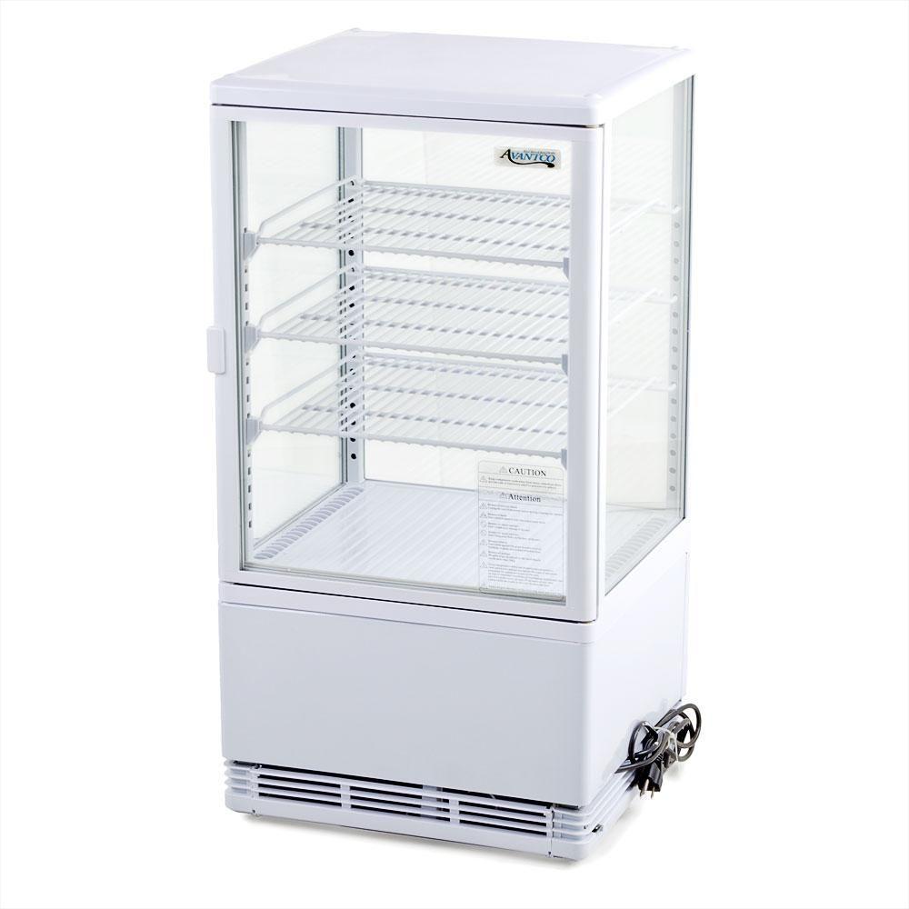 Avantco Fsg 3 Glass Countertop Display Refrigerator 3 Cu Ft 115v Glass Countertops Glass Door Refrigerator Display Refrigerator