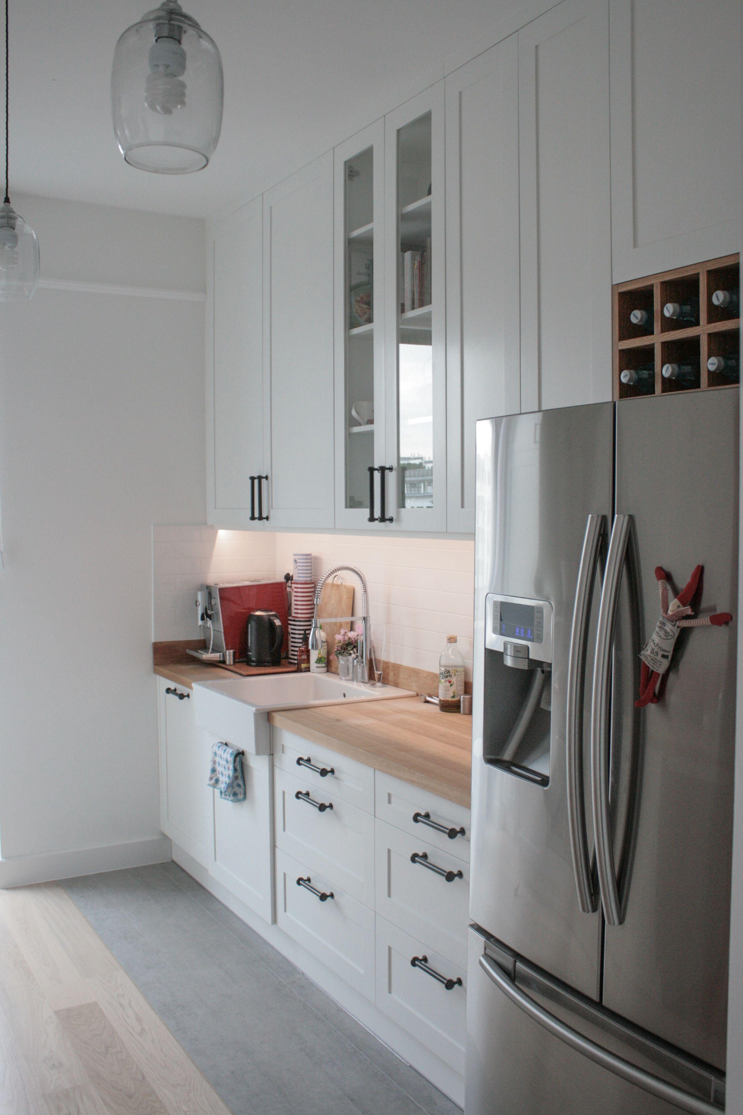 kuchnia w stylu skandynawskim, scandinavian kitchen