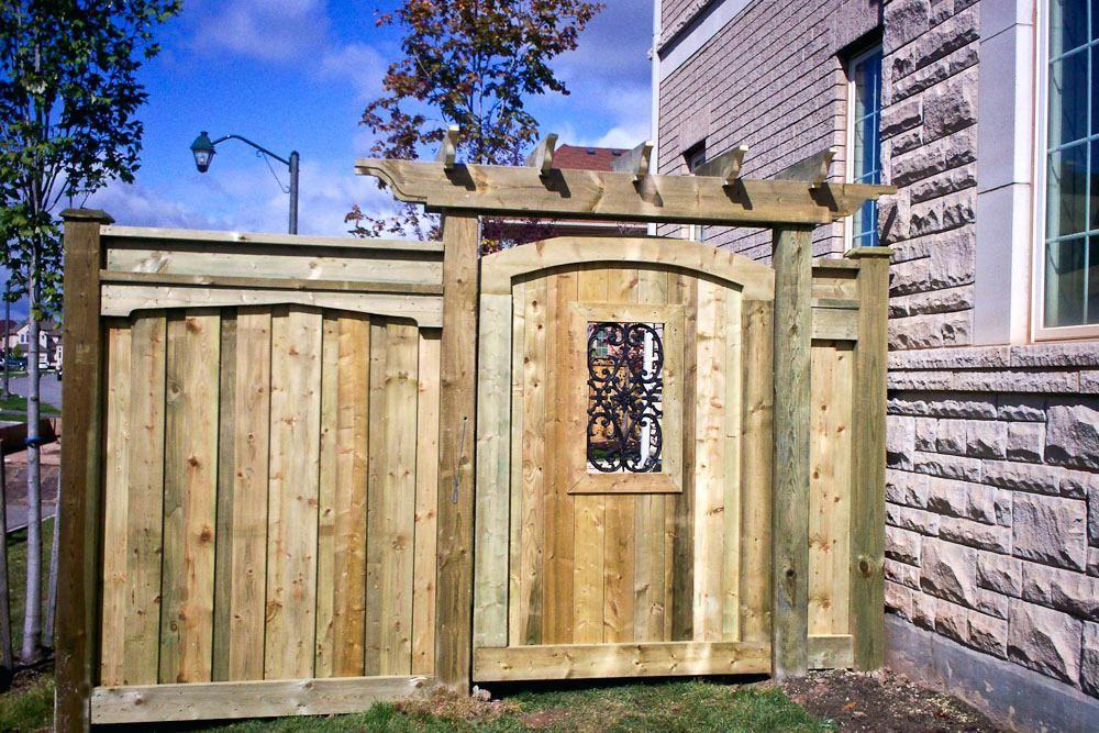 Wood Fence Gate Custom Wood Gate Regal Custom Gate Wood