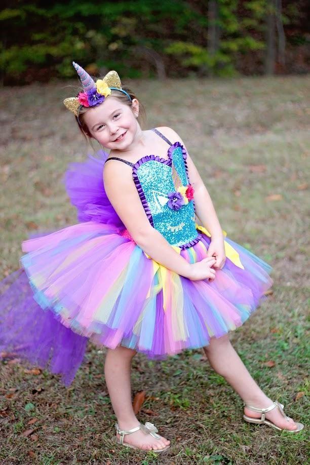 95976a90cf97c Unicorn Tutu, Unicorn Birthday Dress, Girls Unicorn Costume, Unicorn  Photography Prop Dress - Little Ladybug Tutus