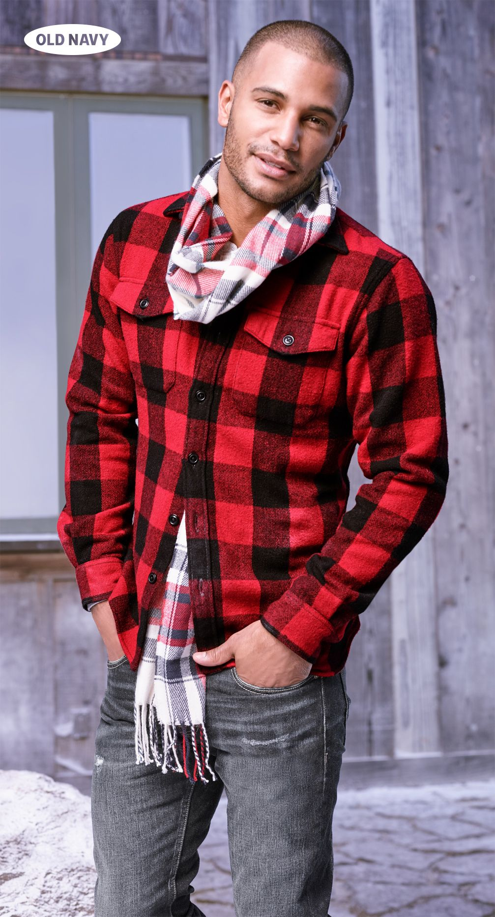 Dark red flannel  Lumberjack Chicud is how weud describe this look Find your perfect