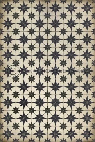 Patterned Linoleum Flooring