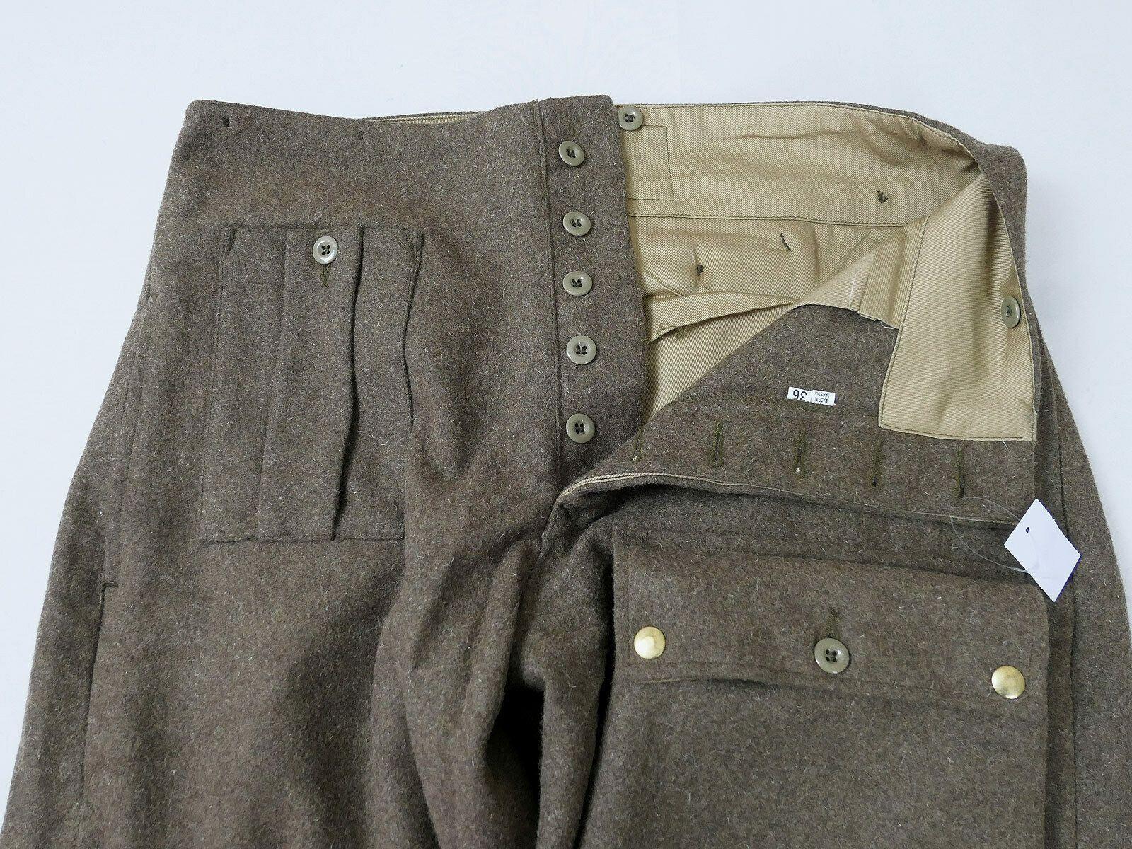 British WWII Battle dress Para Trousers