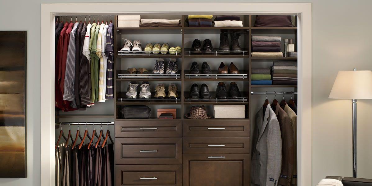 17 Best images about Closet Organizer on Pinterest   Closet organization,  Lowes and Shelves
