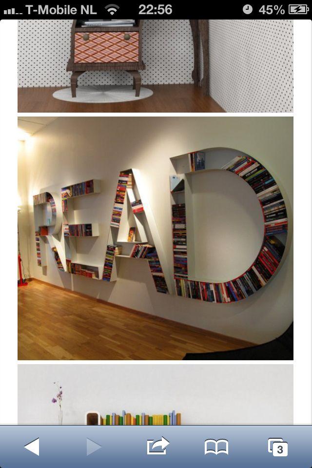 Decoratie boeken handig opbergen home interior pinterest boeken decoratie en - Decoratie studio ontwerp ...