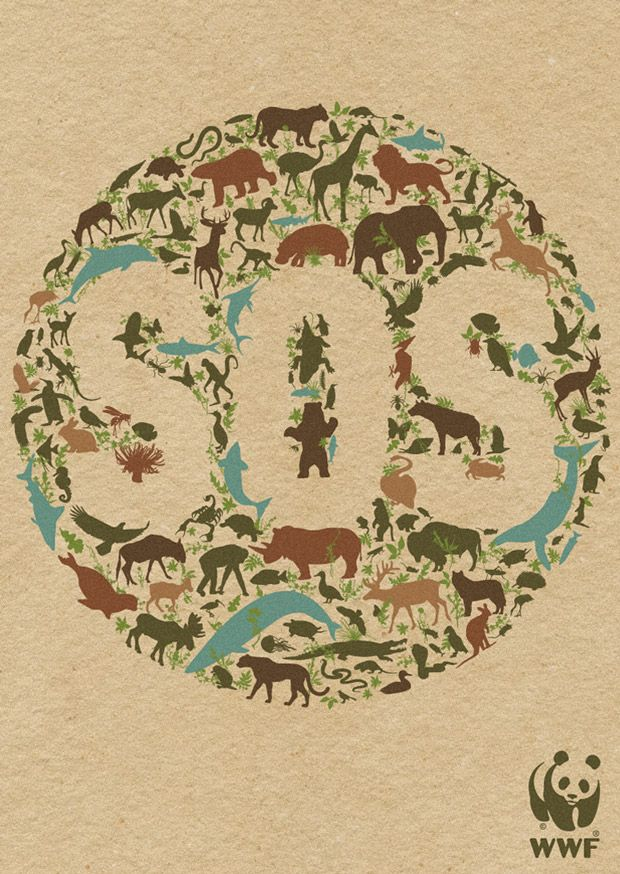 Issues that matter Wwf poster, Environmental posters