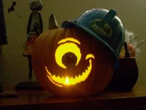 Mike Wazowski Pumpkin Carving Amazing Pumpkin Carving Pumpkin Carving Disney Pumpkin Carving
