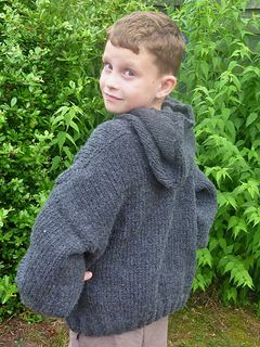 ecfb227872fac Child s Easy Hooded Pullover pattern by Lion Brand Yarn