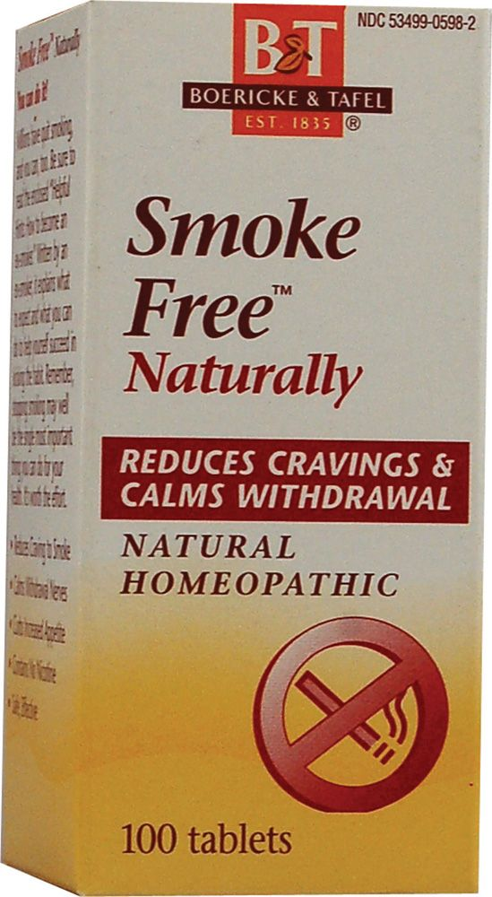 Boericke & Tafel Smoke Free™ Naturally 100 Tablets