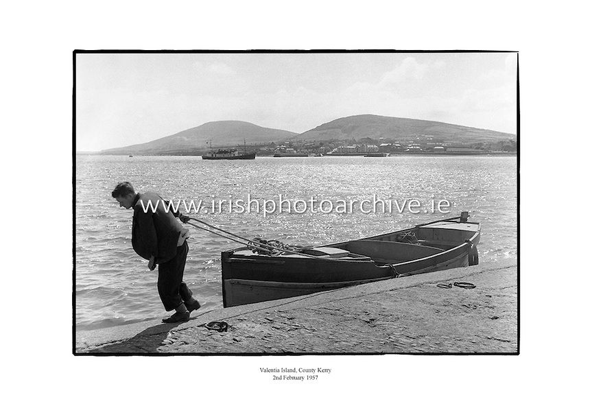 Valentia Island County Kerry 2nd February 1957 Boat and Ship - what is presumed