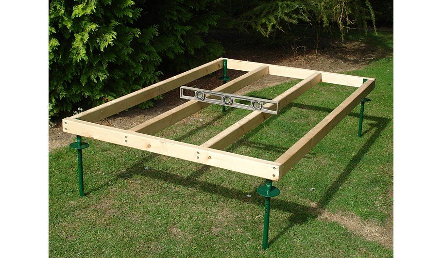 Buy Fairwood 8 x 8 Adjustable Shed Base from our Sheds & Buildings ...