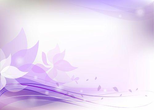Purple Flower Backgrounds Purple Floral Background Light Purple