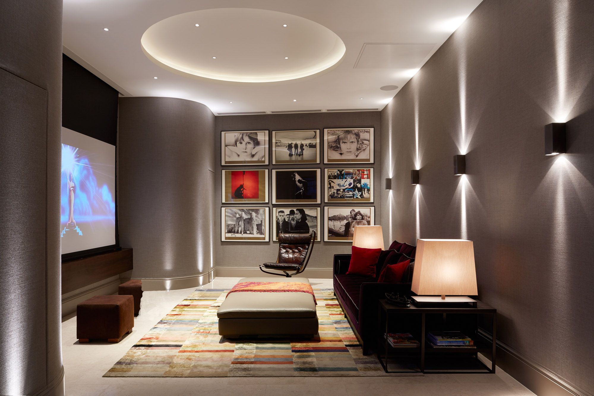 Our Top 20 Tv Cinema And Games Room Examples With Images Home