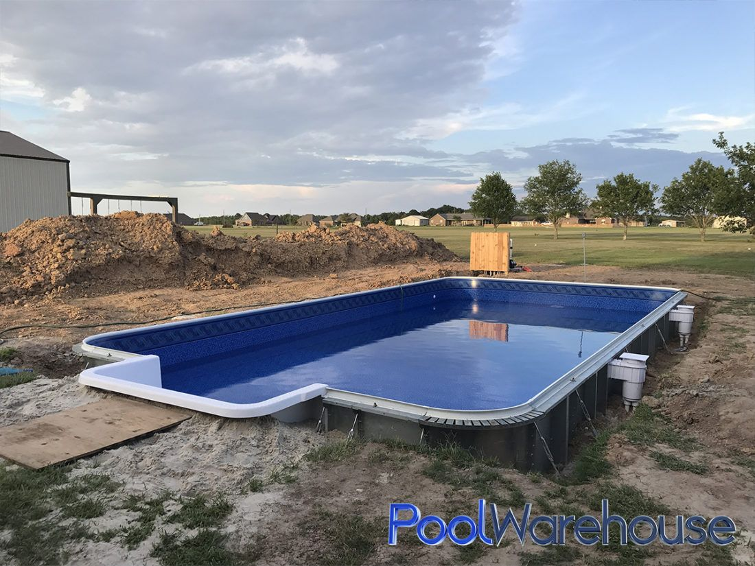 Southwest Louisiana Pool Build Building a pool, Pool