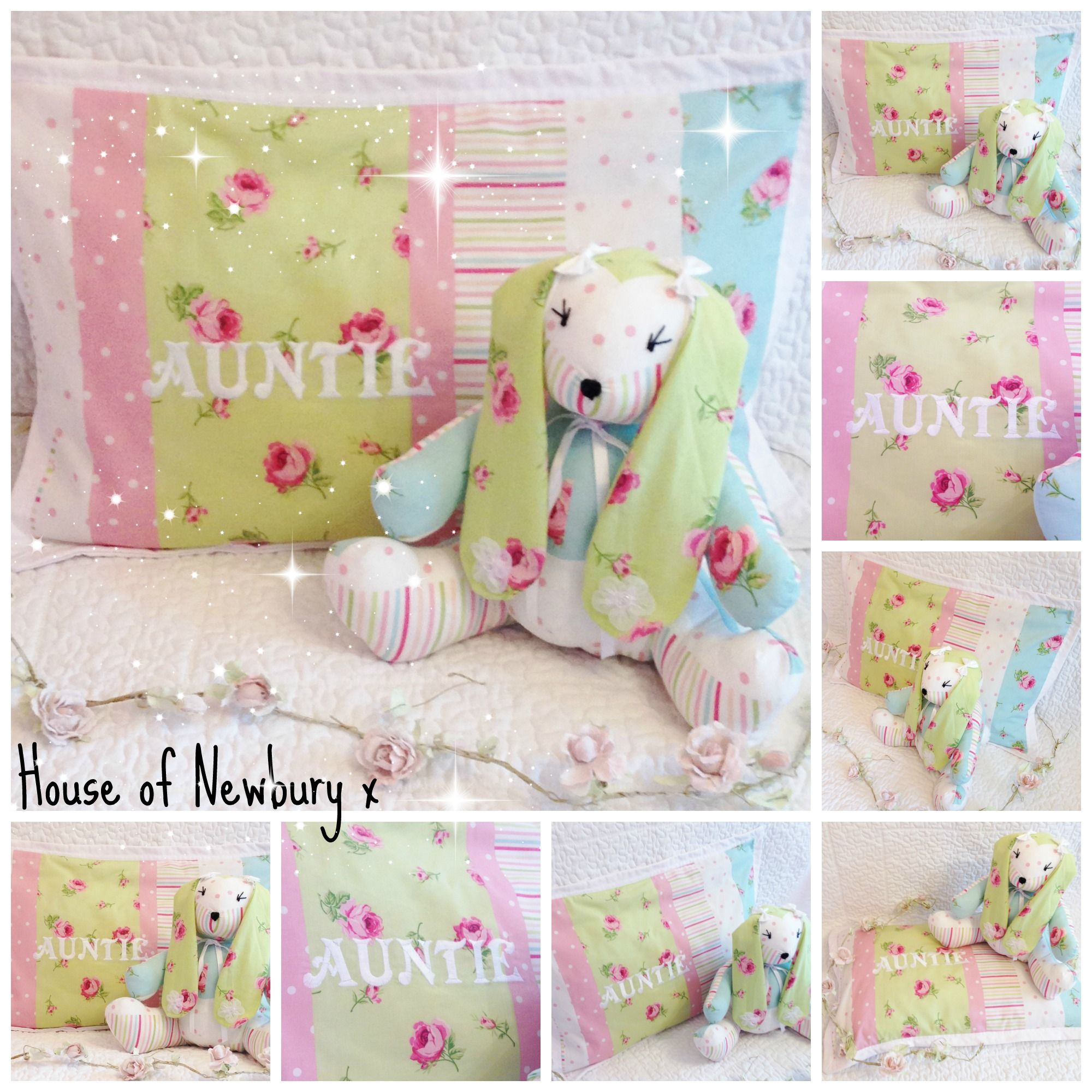 Patchwork Memory Keepsake Made From You Cherished Baby