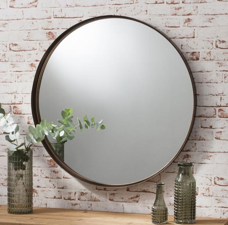 Industrial Round Mirror (Mirror)