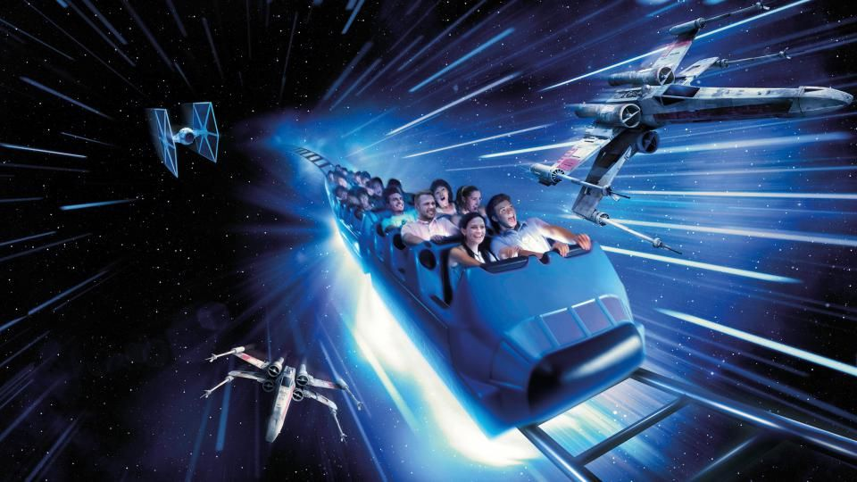 25th anniversary Star Wars Space Mountain