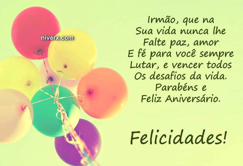 Mensagem Para Irmã De Aniversário Whatsapp Facebook E38: Feliz-aniversário-irmão-celular-whatsapp-facebook-C42