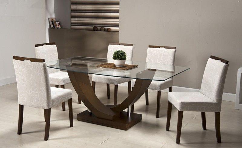 mesas de comedor para 6 personas modernas buscar con On mesas de vidrio modernas para comedor