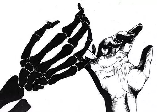 scary death Black and White creepy hands dark monochrome ...