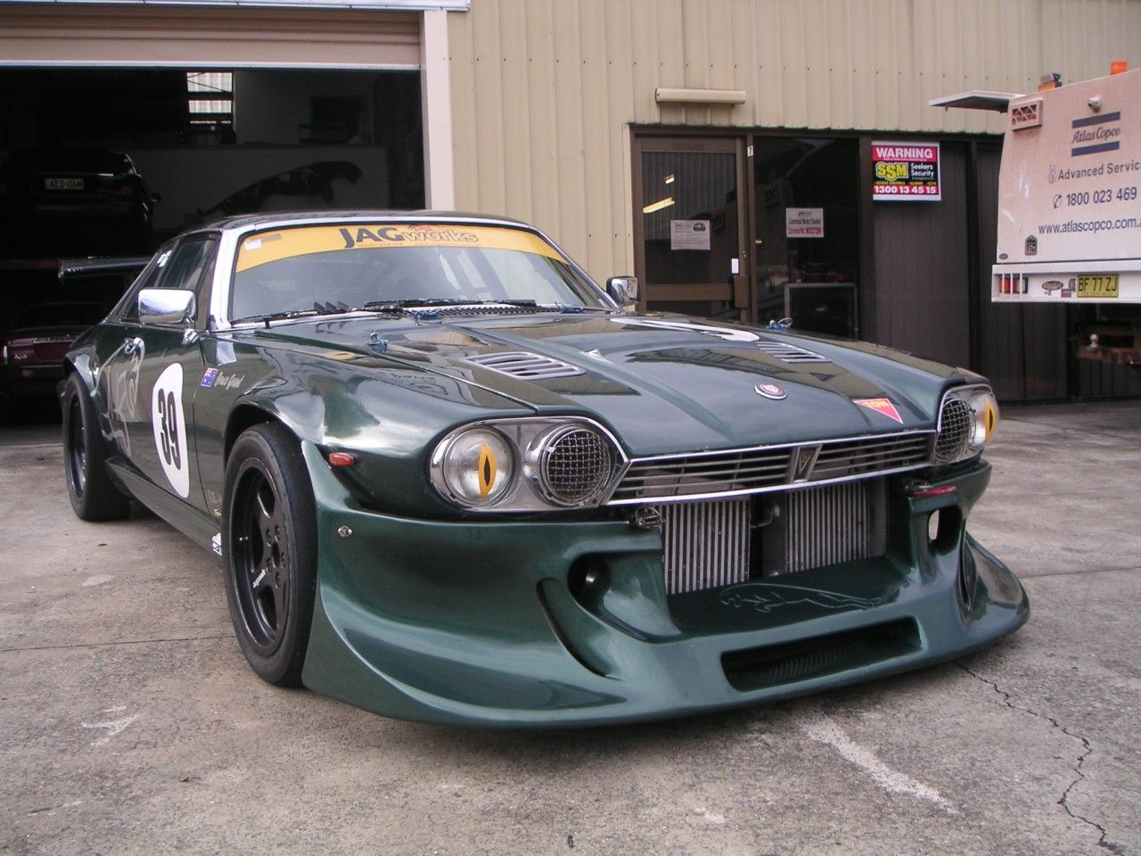 A Jaguar XJ-S race car from Down Under.... | Keys Please ...