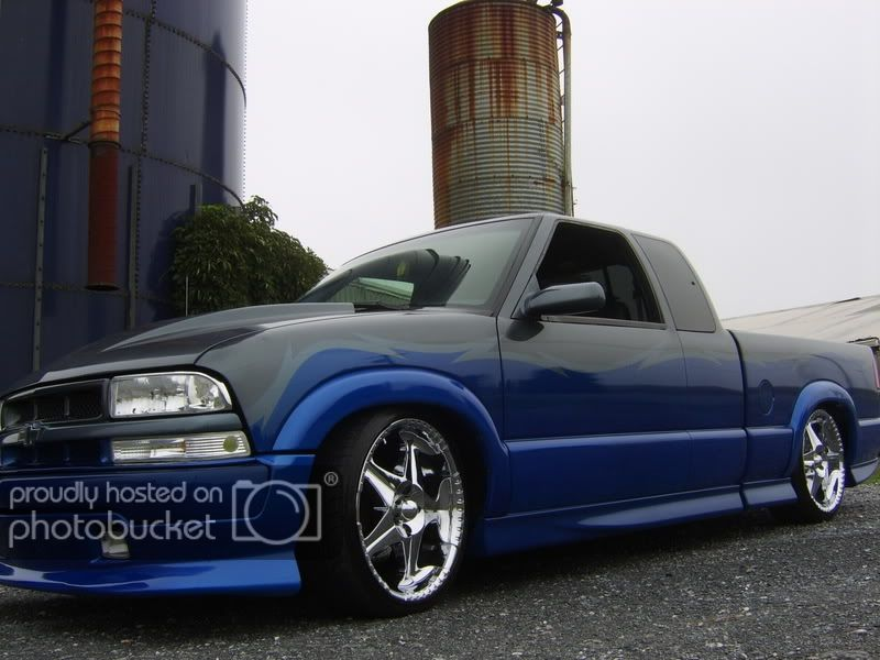 Let S See Your Two Tone Paint Jobs S 10 Forum Truck Paint Jobs Chevy S10 Xtreme Chevy S10