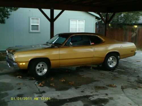 1973 Plymouth Duster Base 5 2l Last Time Listed Plymouth Duster Plymouth Mopar