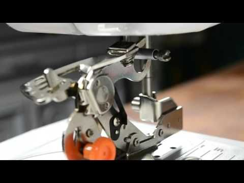 Ruffler Foot Tutorial For Brother JX40 Sewing Machine YouTube Gorgeous Ruffler For Brother Sewing Machine